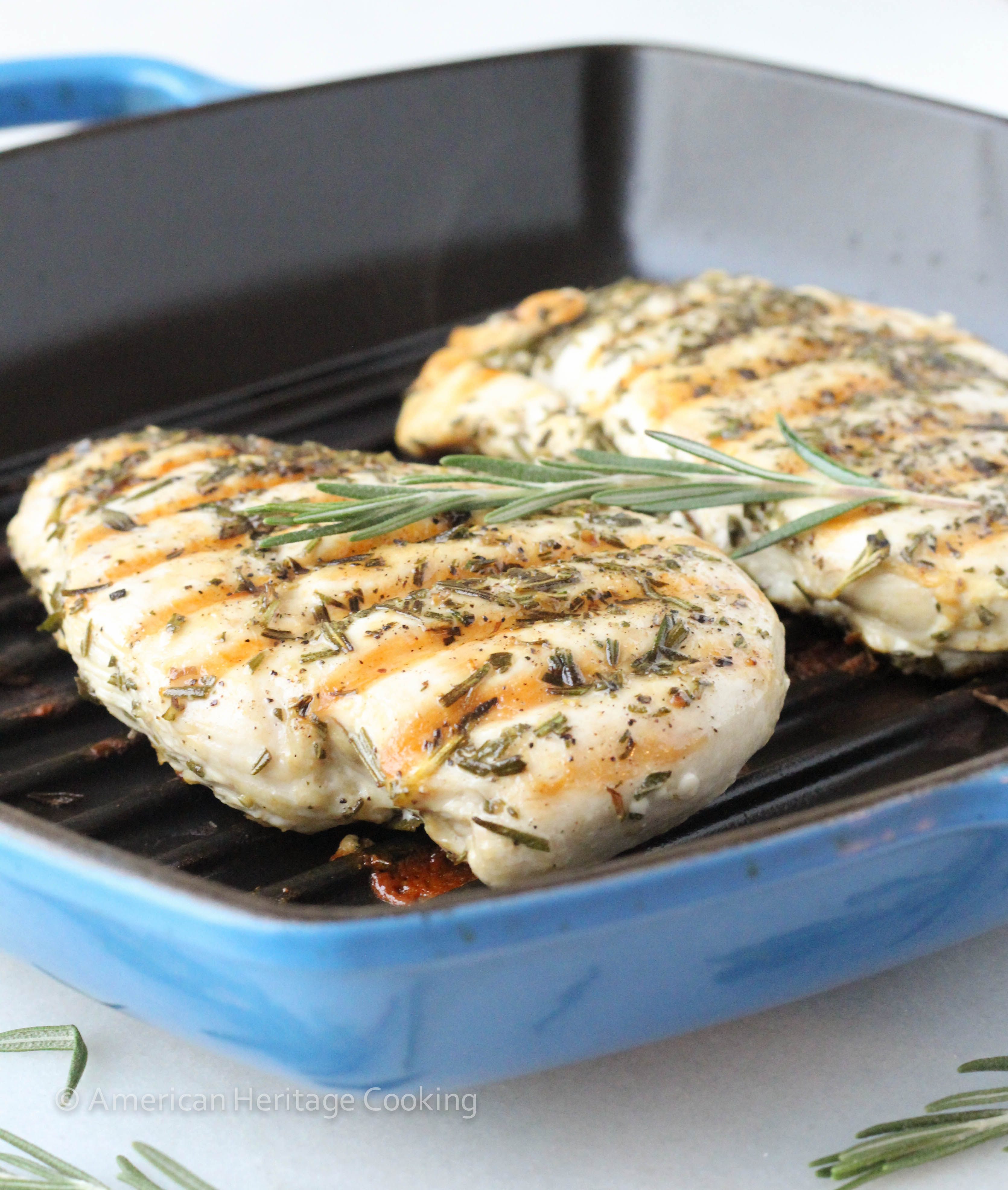 Foolproof Grilled Rosemary Chicken American Heritage Cooking