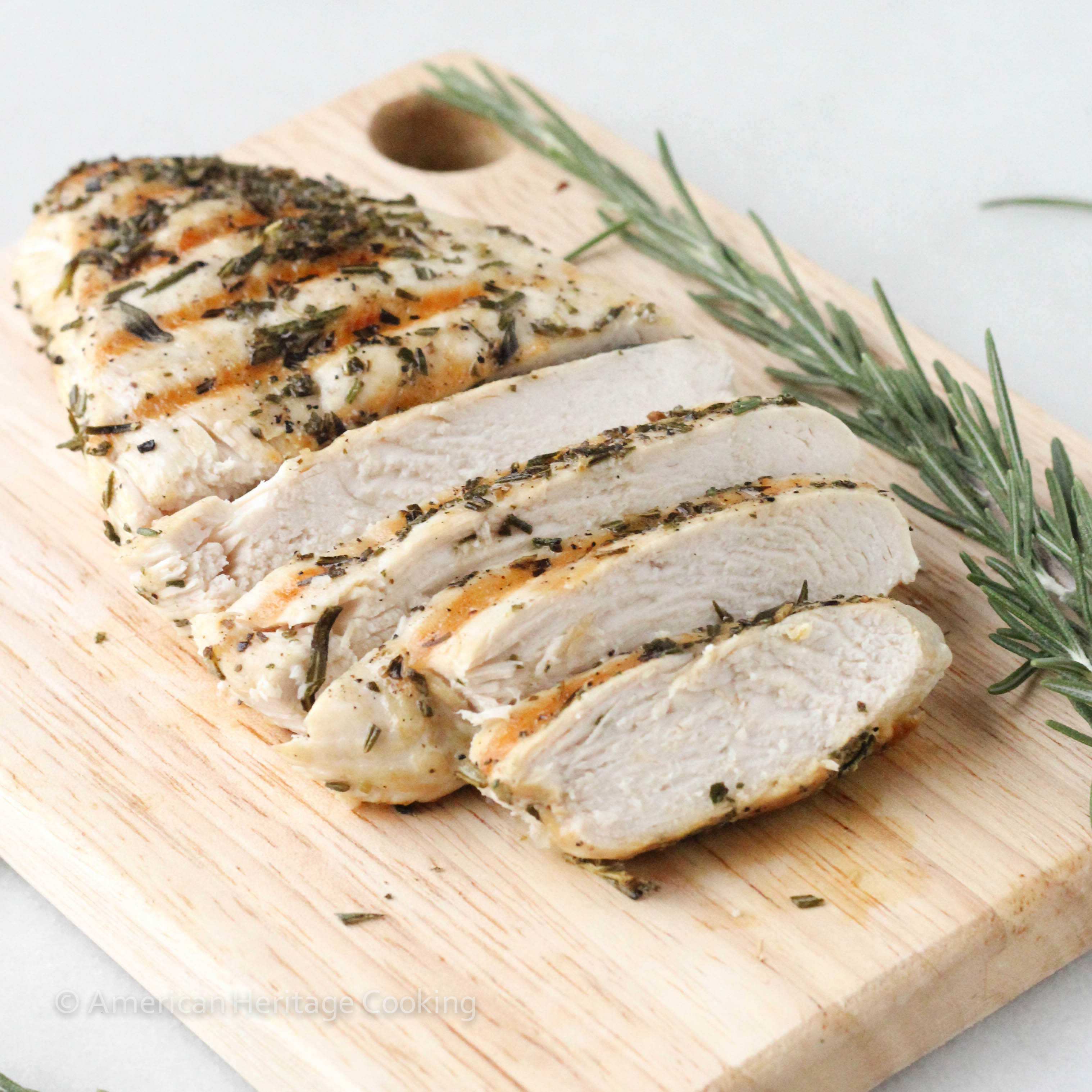 Foolproof Grilled Rosemary Chicken - American Heritage Cooking
