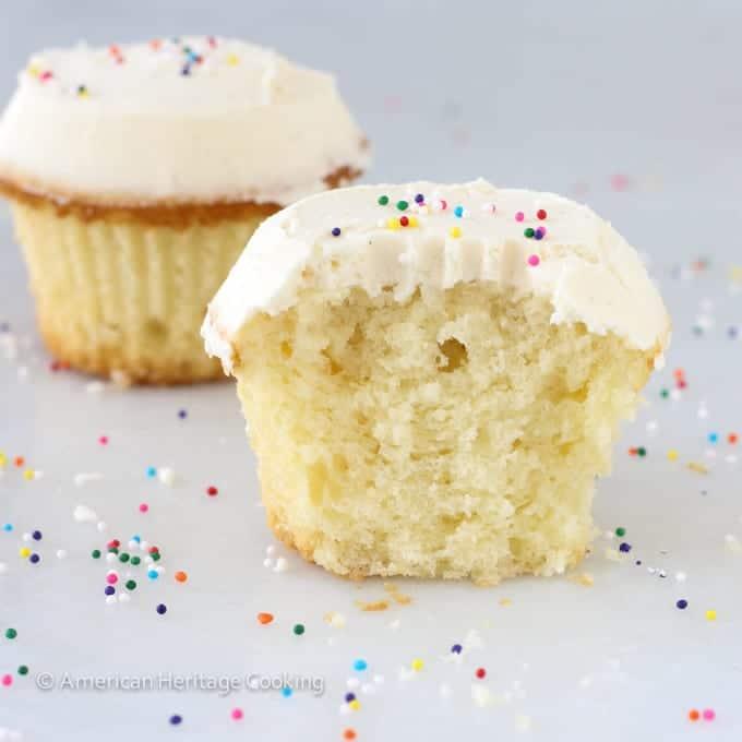 Sprinkles Copycat Vanilla Cupcakes