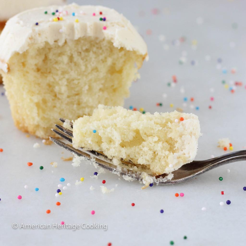 Vanilla Bean Cake With Salted Caramel Buttercream