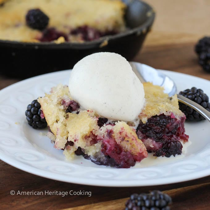 Blackberry Buckle – An Old Fashioned Treasure