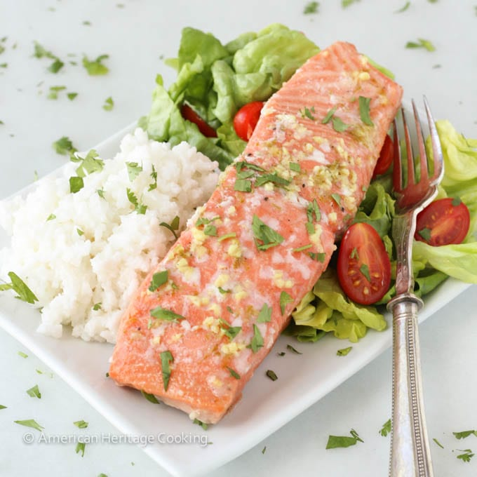 recipe: ginger lime salmon marinade [21]