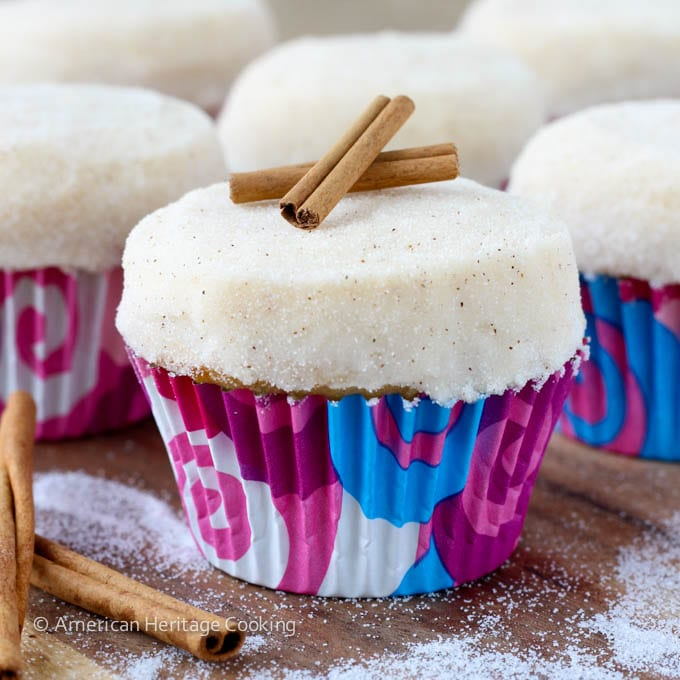 Copycat Sprinkles Triple Cinnamon Cupcakes