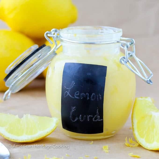 Easy Homemade Lemon Curd