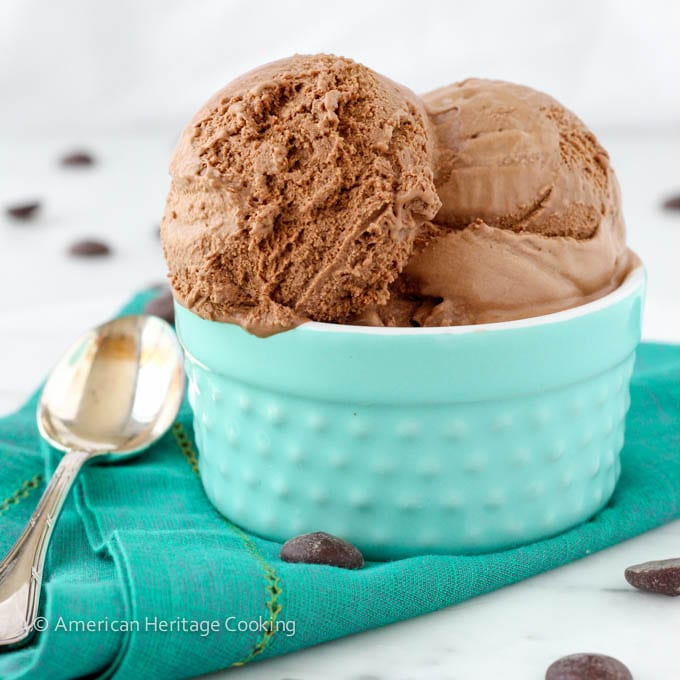 The Best Chocolate Ice Cream