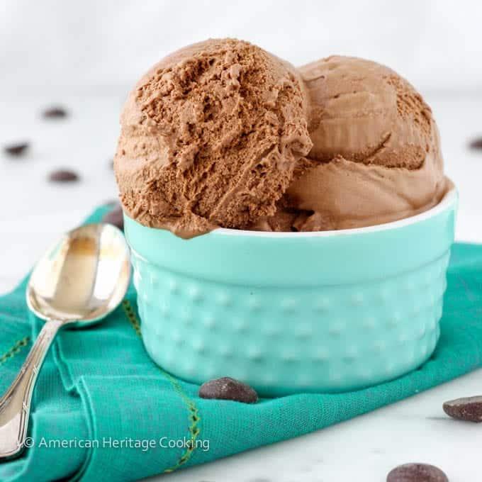 The Best Chocolate Ice Cream