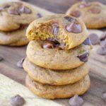 Brown Butter Pumpkin Chocolate Chip Cookies