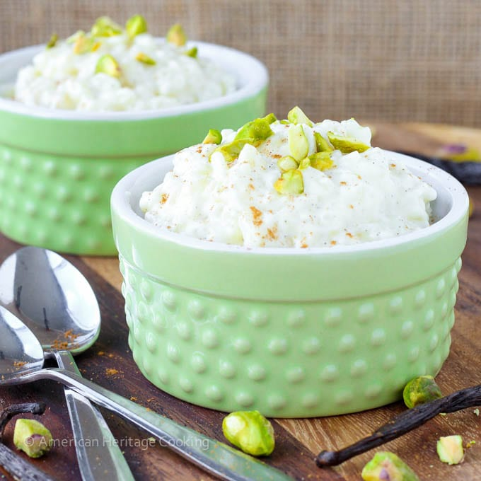 Vanilla Bean Rice Pudding is a silky, creamy, slightly sweetened rice ...