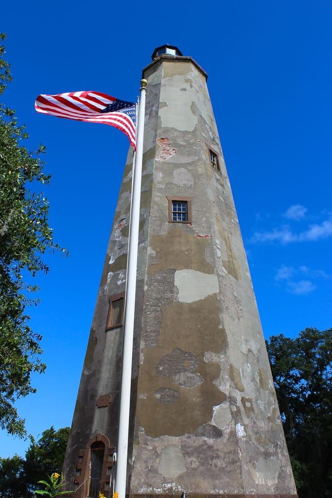 Thanksgiving 2014 - A Post about thankfulness and what I am particularly thankful for this year. Photo of Bald Head Island - Old Baldy Lighthouse