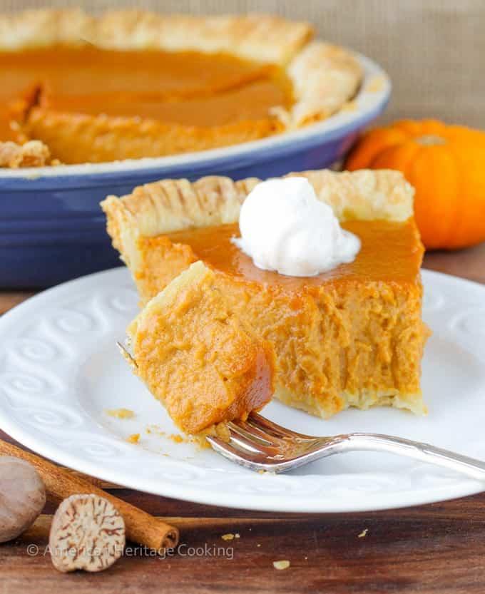 Classic Pumpkin Pie with a Twist   My new favorite pumpkin recipe has lemon zest, spices, vanilla and brown sugar! So amazing!