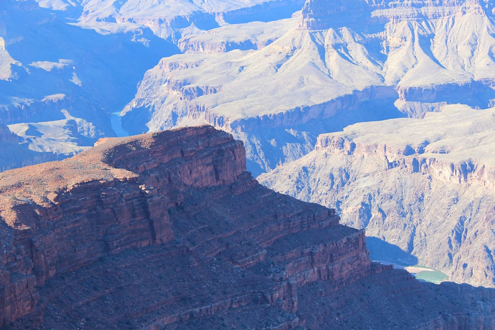 Thanksgiving 2014 - A Post about thankfulness and what I am particularly thankful for this year. Photo of the Grand Canyon Christmas 2013