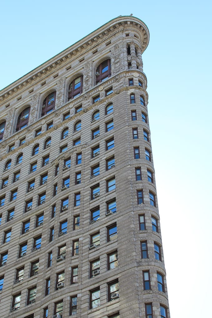 Thanksgiving 2014 - A Post about thankfulness and what I am particularly thankful for this year. Photo of Flat Iron Building New York City