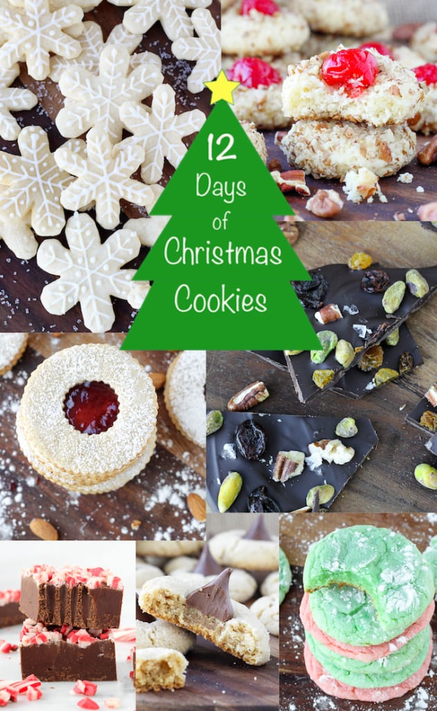 12 Days of Christmas Cookies 2014 Round Up