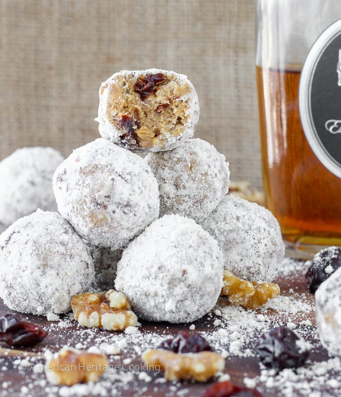 No Bake Gingersnap Brandy Balls
