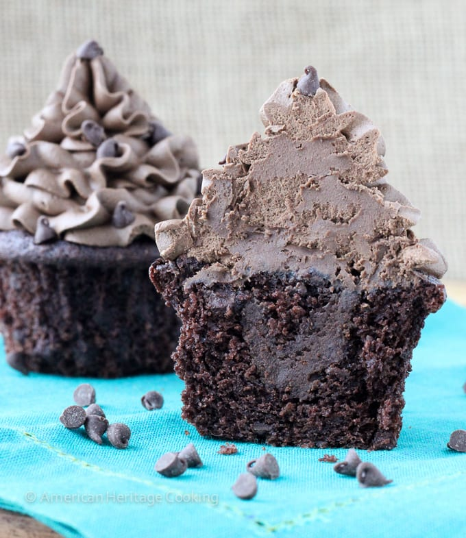 The Best Death by Chocolate Cupcakes