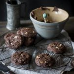 An easy Double Chocolate Chip Cookie recipe that is ready in 20 minutes!!!