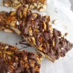 These Dark Chocolate Nut KIND Bars Copy Cats are sinfully delicious! The perfect sweet snack!