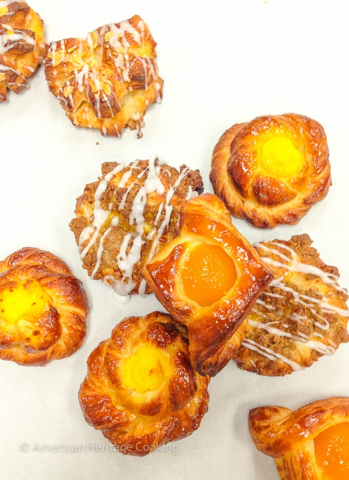Culinary School Update Part 3 : Assorted Danish