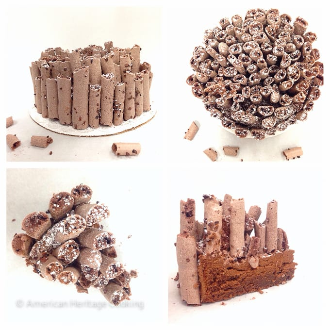 Culinary School Update Part 3 : Flourless Chocolate Cake