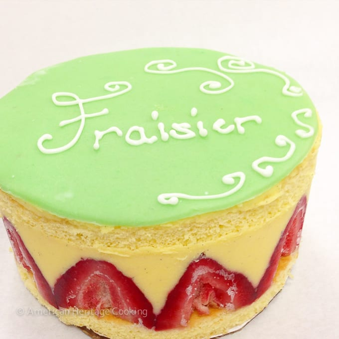 Culinary School Update Part 3 : Fraisier