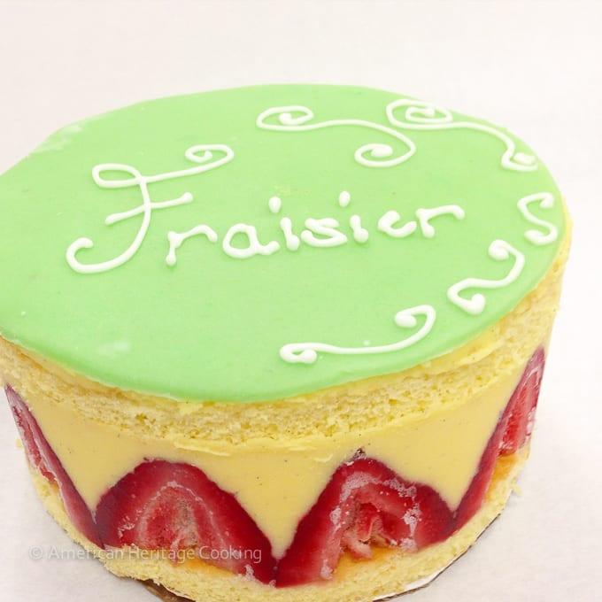Culinary School Update Part 3 : Fraisier