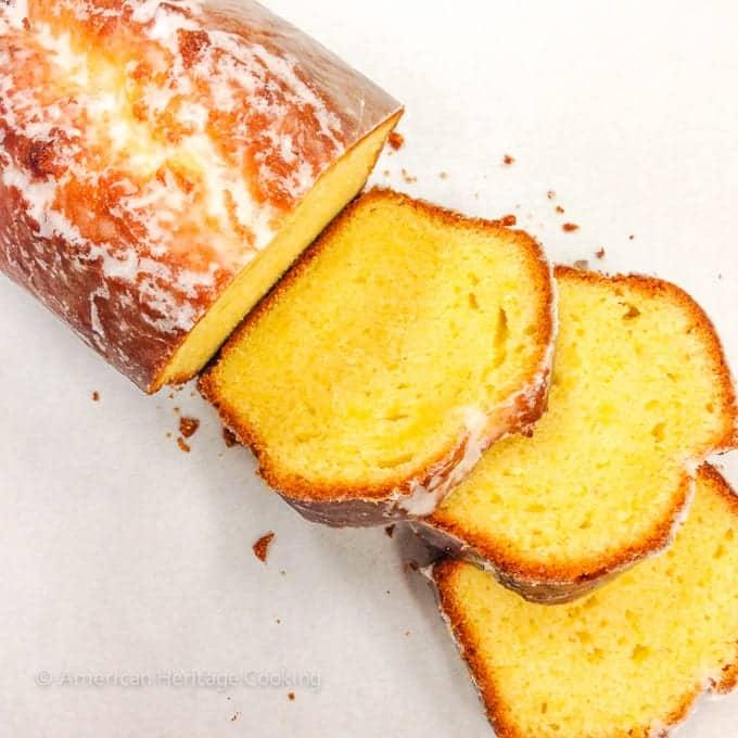 Culinary School Update Part 3 : Lemon Pound Cake