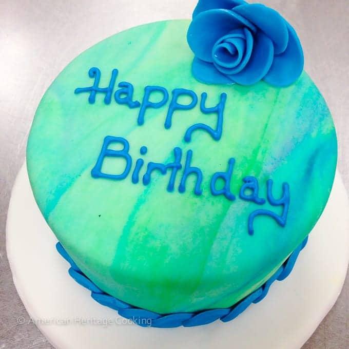 Culinary School Update Part 3 : Happy Birthday