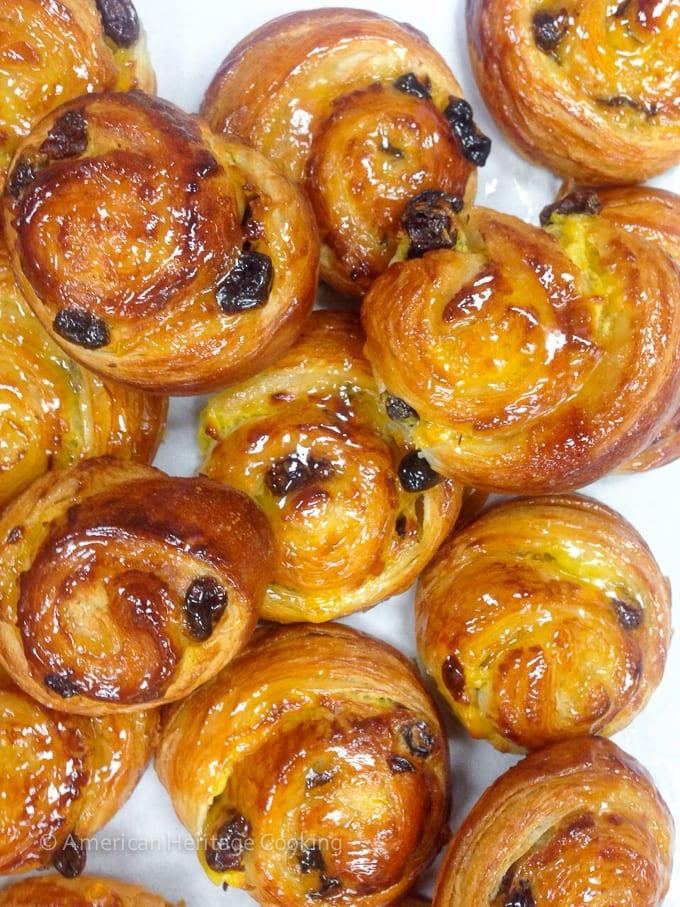 Culinary School Update Part 3 : Pain au Raisin