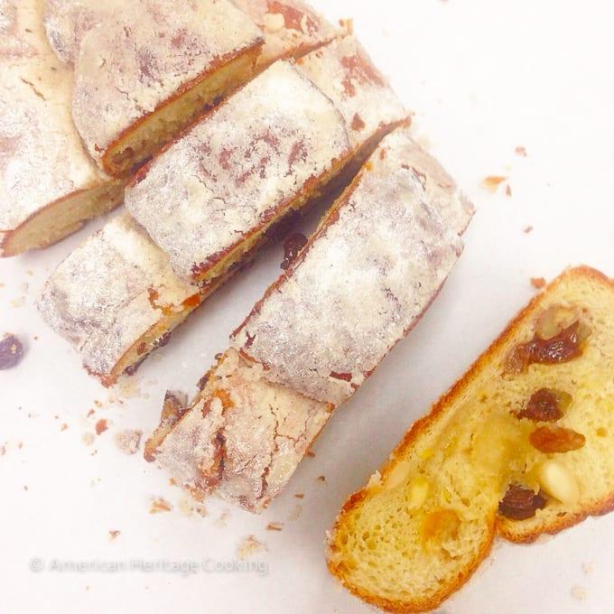 Culinary School Update Part 3 : Stollen