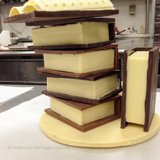 Culinary School Update 4 - Chocolate Candy stand
