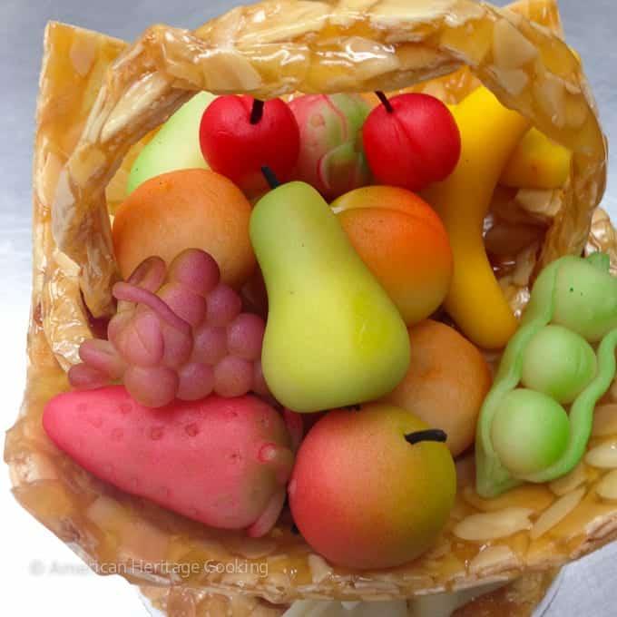 Culinary School Update 4 -  Marzipan Fruits