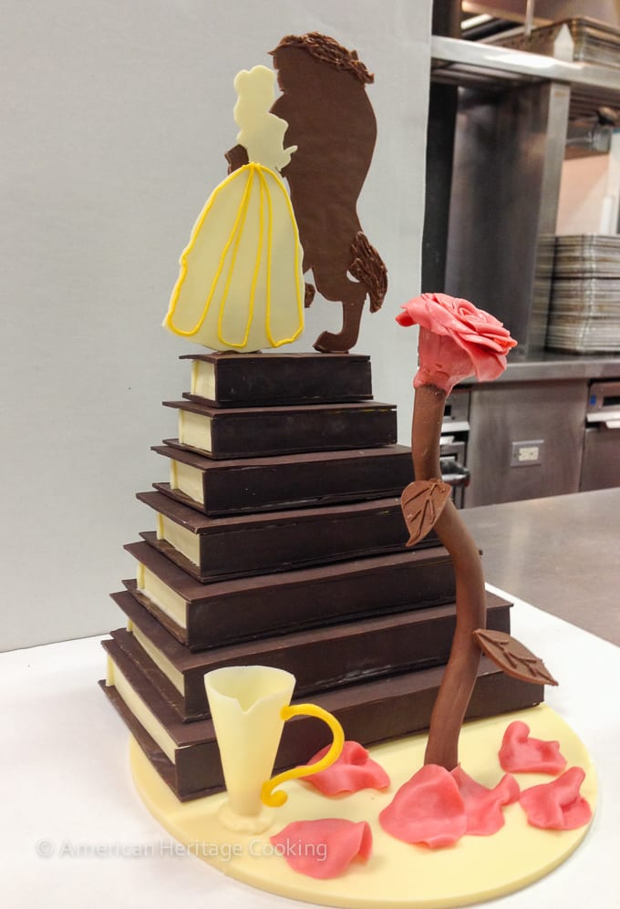 Culinary School Update 4 - Beauty and the Beast Chocolate Showpiece