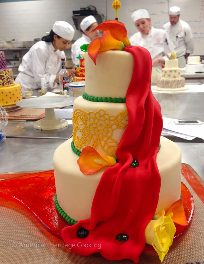 Culinary School Update 4 - Wedding Cake