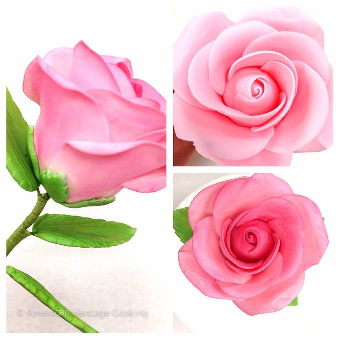 Culinary School Update 4 - Sugar Paste Roses