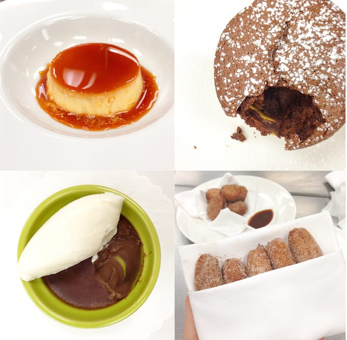Culinary School Update 4 - Plated Desserts