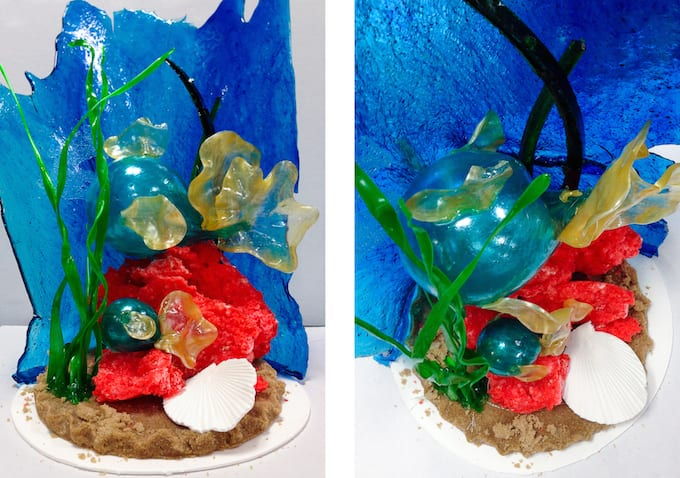 Culinary School Update 4 - Sugar Showpiece Under the Sea
