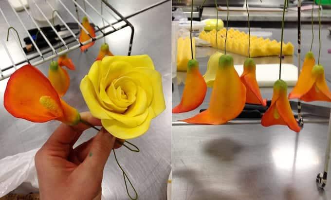 Culinary School Update 4 - Sugar Paste Flowers