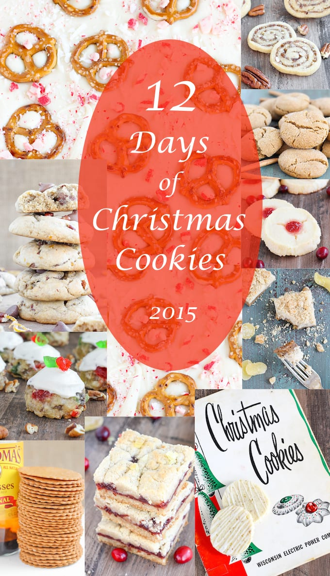 12 Days Of Christmas Cookies 2015 American Heritage Cooking