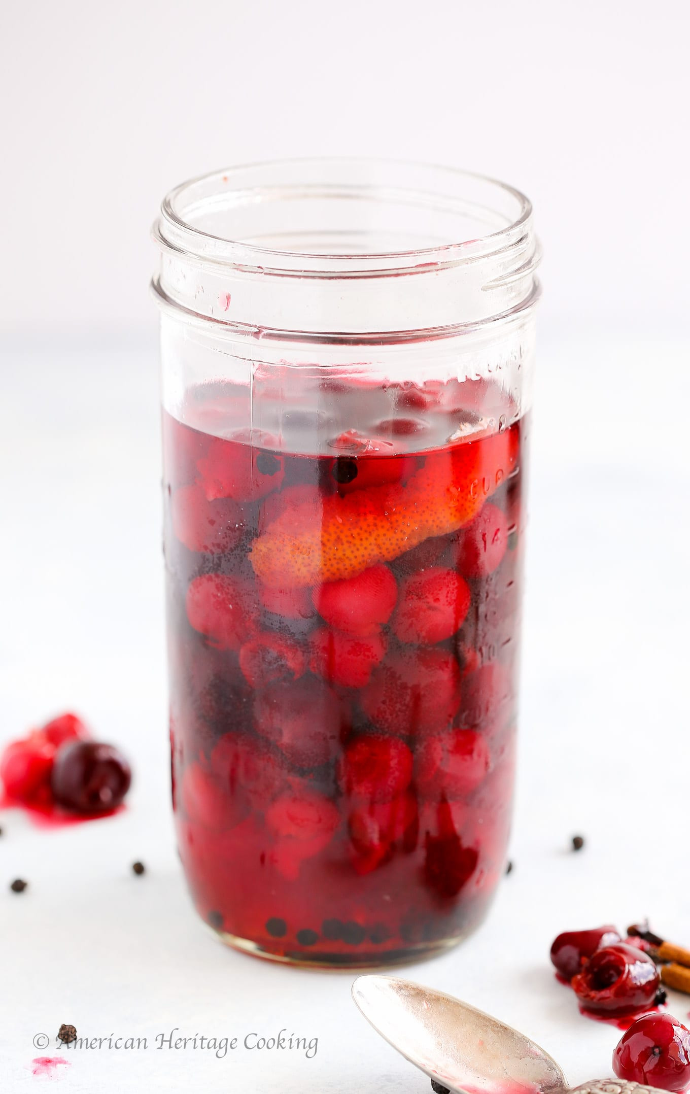 Pickled Cherries are an easy way to preserve tart or sweet cherries for the months to come! They make a zippy addition to any salad, chicken, pork, duck, or beef dish! And as an easy, delicious topping for tacos!