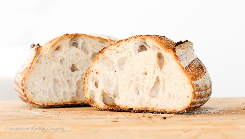 Basic Sourdough Bread Recipe Tutorial