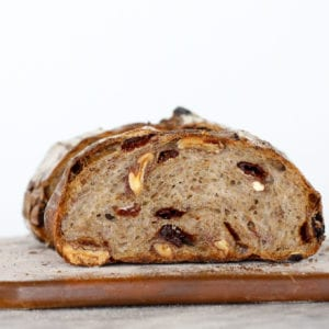 Cherry pecan sourdough