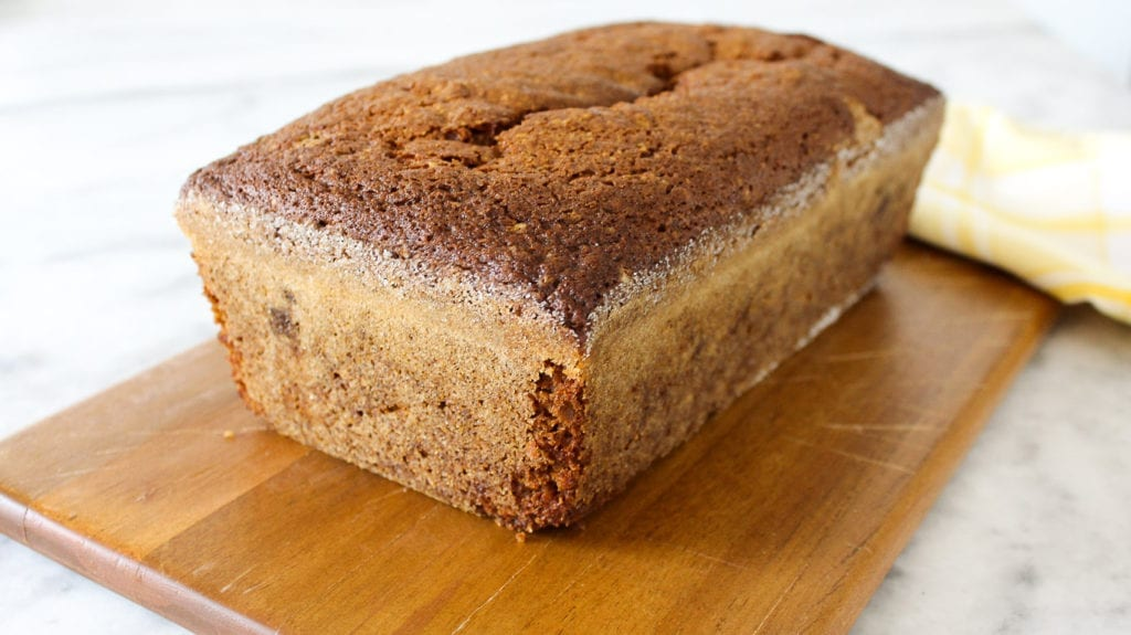 This Pumpkin Spice Bread is moist and full of spices! It is perfect for breakfast or an afternoon snack!